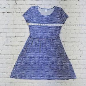 Old Navy Dresses - Old Navy Blue & White Striped Dress